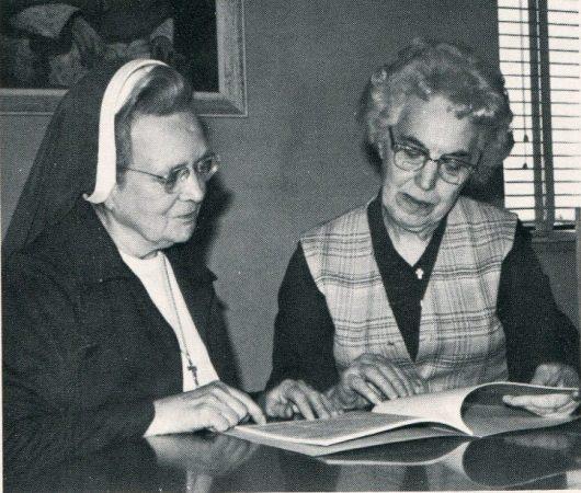 Sr. Mary Kenneth Kearns and Sr. Alma Haberman
